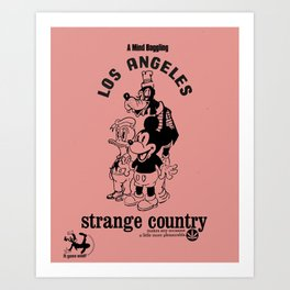 Strange Country Art Print