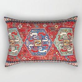 Chondzoresk Karabagh Caucasian Antique Carpet Print Rectangular Pillow