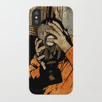 borderlands iPhone & iPod Cases featuring Leroy And The Five Dancing Skulls Of Doom by Matthew Dunn