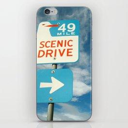 49 mile scenic drive iPhone Skin