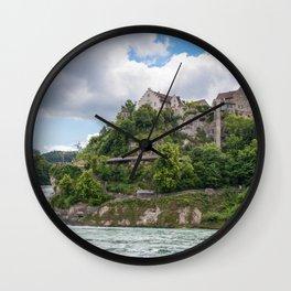 The Rhine falls Wall Clock