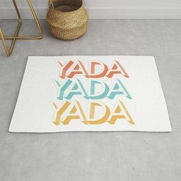 Yada Yada Yada Rug