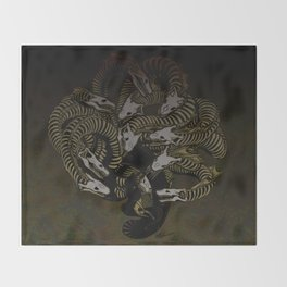 Lonely Hydra Throw Blanket