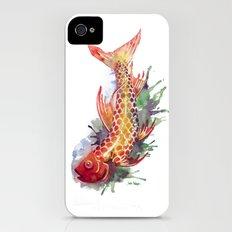 Fish Splash iPhone (4, 4s) Slim Case