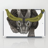 jackalope iPad Cases featuring Jackalope by Justin McElroy
