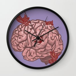 Pandemonium of the Brain Wall Clock
