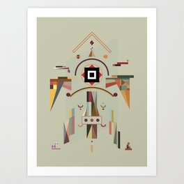 the good silence Art Print