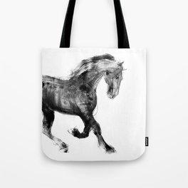 Horse (Friesian Colt) Tote Bag