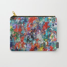 Abstract background painting 78 Carry-All Pouch