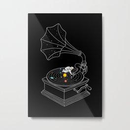 Star Track Metal Print