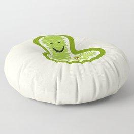 Smiling Avocado Food Floor Pillow
