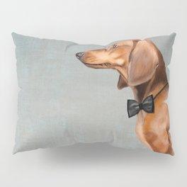 Elegant dachshund. Pillow Sham