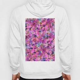 Pink Rainbow Garden Hoody