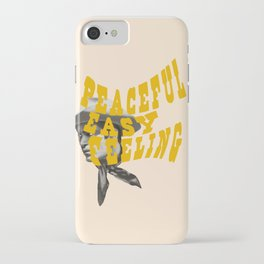 Peaceful Easy Feeling iPhone Case