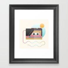 Summer Rhythm Framed Art Print