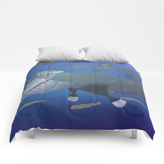 Wc of Whale Comforters