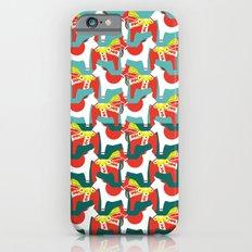 Dalahäst & Japanese horse iPhone 6s Slim Case