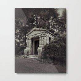 crypt Metal Print