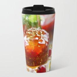 Summer Love strawberries with honey Travel Mug