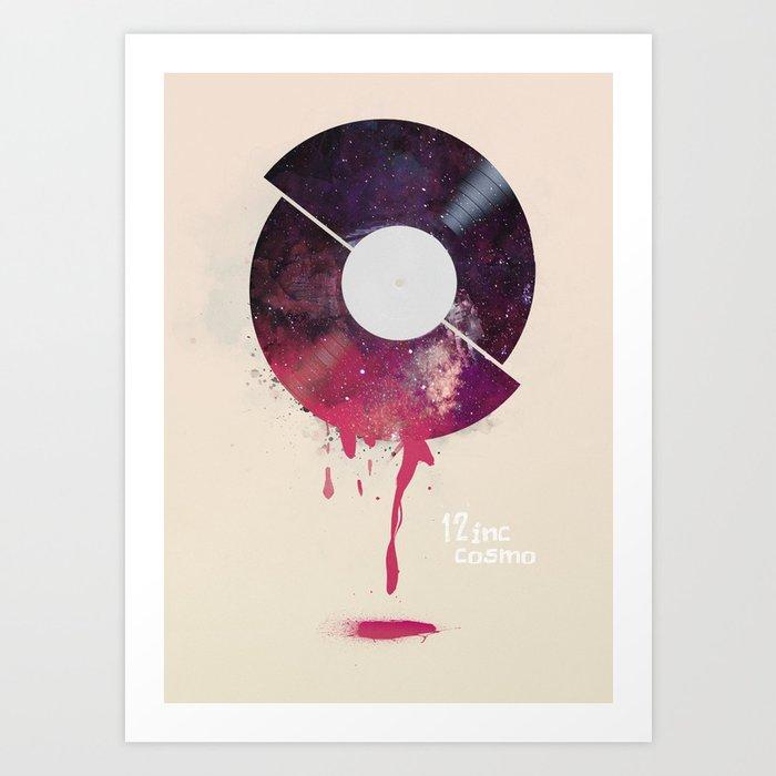 12inc cosmo Art Print
