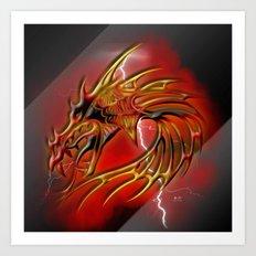 Dragon One Art Print