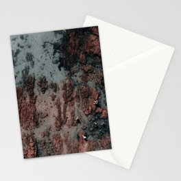 Walking on Mars Stationery Cards