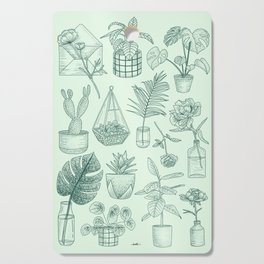 PLANTS LOVER Cutting Board