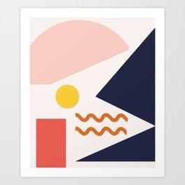 Nouille Art Print