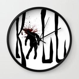 Kill Zombie Wall Clock