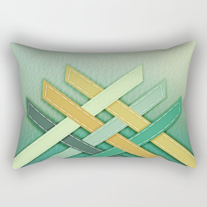 Jaipur Water Palace Rectangular Pillow