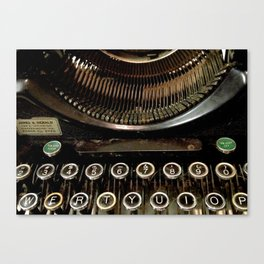 Typewriter (2) Canvas Print