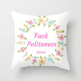 My favorite murder - funny quote Throw Pillow
