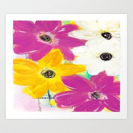 Every Day Floral Art Print