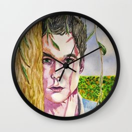 Spring road: Jim Parsons Wall Clock