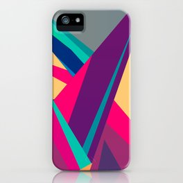 Triangles Intensive (Full) iPhone Case