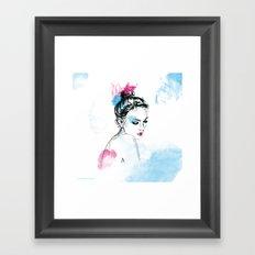 Think ! Framed Art Print