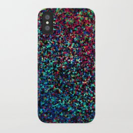 DAZZLE DARKER - Low-key rainbow sparkle iPhone Case