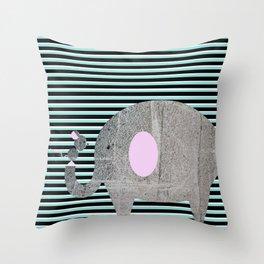 Elemouse Throw Pillow