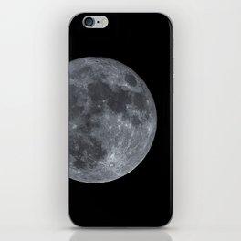 December Super Moon iPhone Skin
