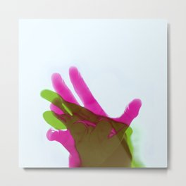 Reaching 03 Metal Print