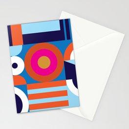 Modernist Pattern Stationery Cards