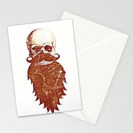 Beard Skull 2 Stationery Cards