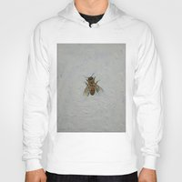 bee Hoodies featuring Bee by Michael Creese