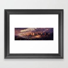 Ruins of Jerusalem Framed Art Print