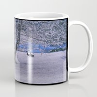 fishing Mugs featuring Fishing by Anthony M. Davis