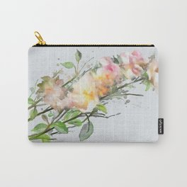 Wild roses, watencolors Carry-All Pouch