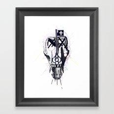 Smaller Gods II Framed Art Print