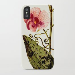 modern sweet peas iPhone Case