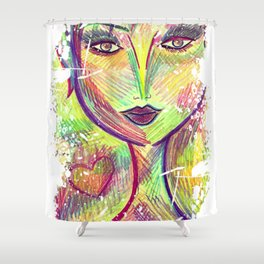 May You Touch Dragonfly and Stars, Dance with Fairies and Walk to the Moon Shower Curtain