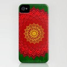 okshirahm rose mandala Slim Case iPhone (4, 4s)